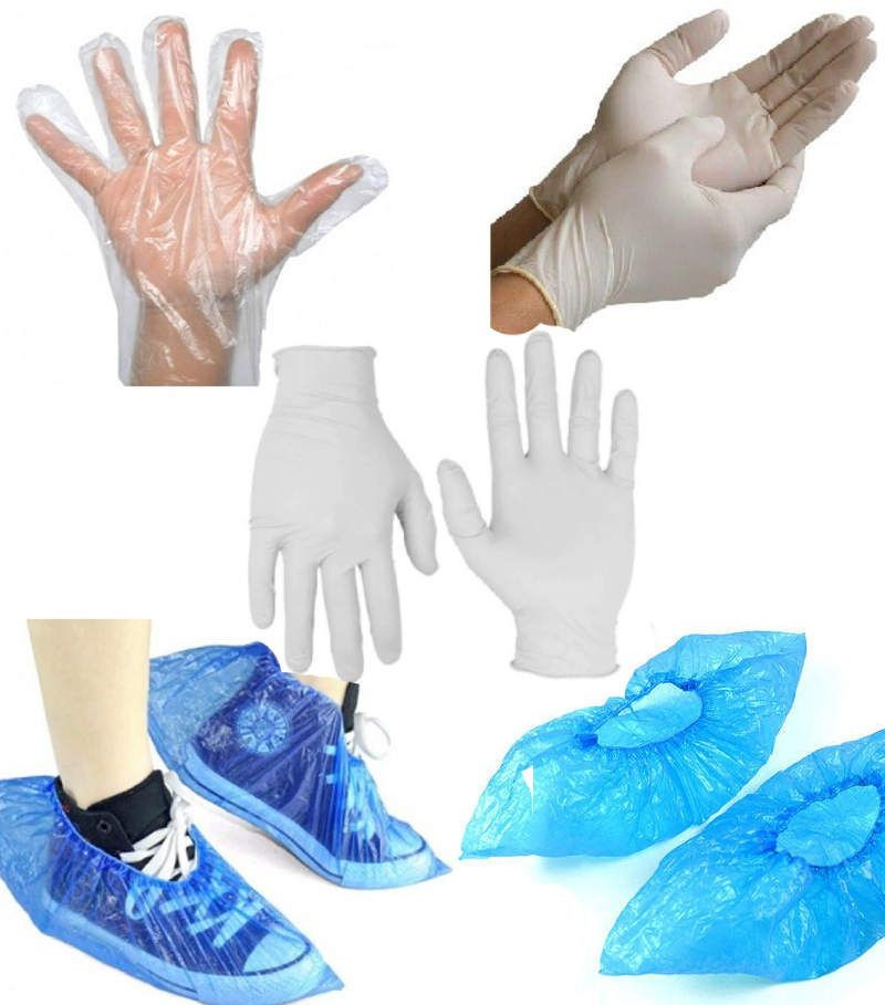 Know About Various Types of Disposable Gloves And Shoe Covers