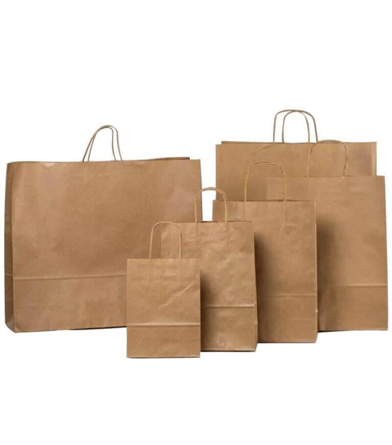 1213e0861b4 10 x 14 x 3.5 Inch Kraft Paper Bag